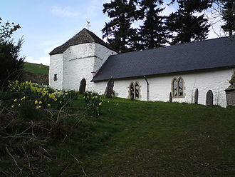 Radnorshire - St Mary's Church, Pilleth