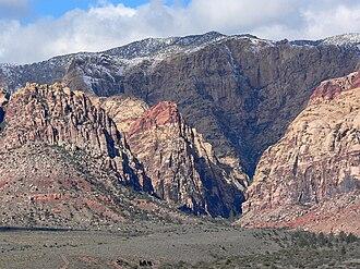 Bridge Mountain - Image: Pine Creek Canyon 1