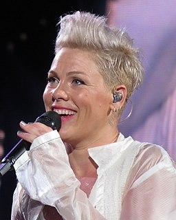 Pink (singer) American singer and songwriter