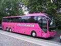 Pink MAN Lions Coach, Piccolonia Reisen, Köln . Berlin, Aug 2011 - Flickr - sludgegulper.jpg
