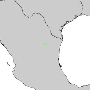 Pinus culminicola - Image: Pinus culminicola range map 2