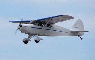 Piper PA-16 Clipper - Piper PA-16 Clipper in flight