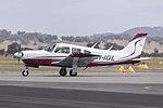 Piper PA-28R-200 Arrow II (VH-IGL) taxiing at Wagga Wagga Airport (1).jpg