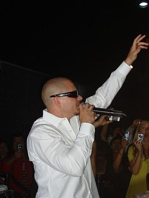 Pitbull at the Alhambra High School 2007 Prom ...