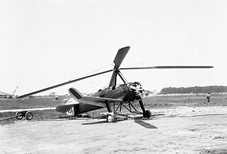Juan de la Cierva, 1st Count of la Cierva - Pitcairn PCA-2 autogyro, built in the U.S. under Cierva license, 1961.