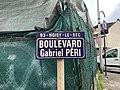 Plaque Boulevard Gabriel Péri - Noisy-le-Sec (FR93) - 2021-04-16 - 2.jpg