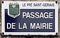 Plaque Passage Mairie - Le Pré-Saint-Gervais (FR93) - 2021-04-28 - 1.jpg