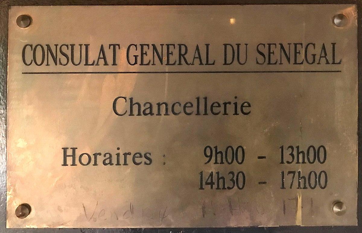 Consulat General Du Senegal A Lyon Wikipedia