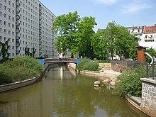 Fluss In Leipzig gewässer in leipzig