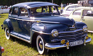 Plymouth De Luxe - Image: Plymouth Special De Luxe 4 Door Sedan 1946 2
