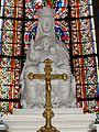 Poissy (78), collégiale Notre-Dame, N.D. de Poissy par la duchesse d'Uzès.JPG