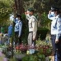 Police officers of Israel during Yom Hazikaron, April 2020.jpg