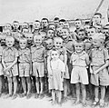 Polish child refugees and war orphans in India 1941.jpg