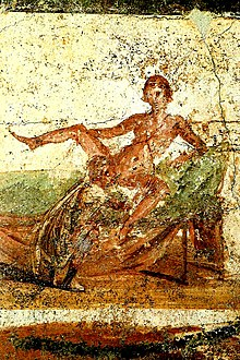 Painting fresco erotic roman