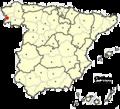 Pontevedra, Spain location.png