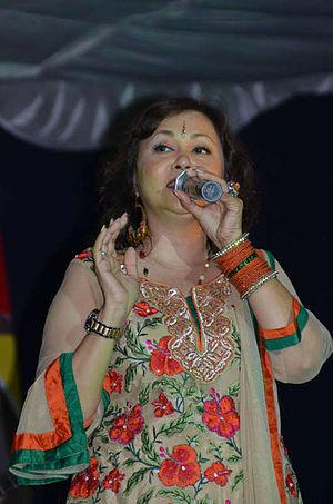 Sushma Shrestha - Poornima performing on stage