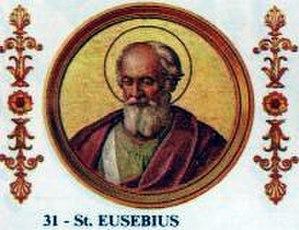 Pope Eusebius - Image: Pope Eusebius
