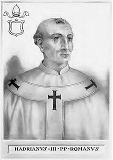 Pope Adrian III pope