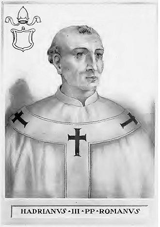 Pope Adrian III - Image: Pope Adrian III
