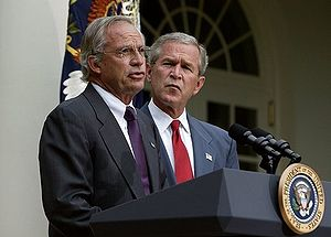 Porter Goss, former CIA director and President...