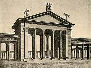 Porticus Octaviae - Original configuration