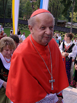 English: His Eminence Stanisław Cardinal Dziwi...