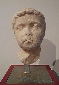 Portrait dune jeune fille (Agrippine lAncienne), Agrippina the Elder?, MSR, Musée Saint-Raymond (7220980324).jpg