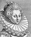 "Portrait from ""Variae comarum et bararum formae"", P. Galle Wellcome L0019801.jpg"