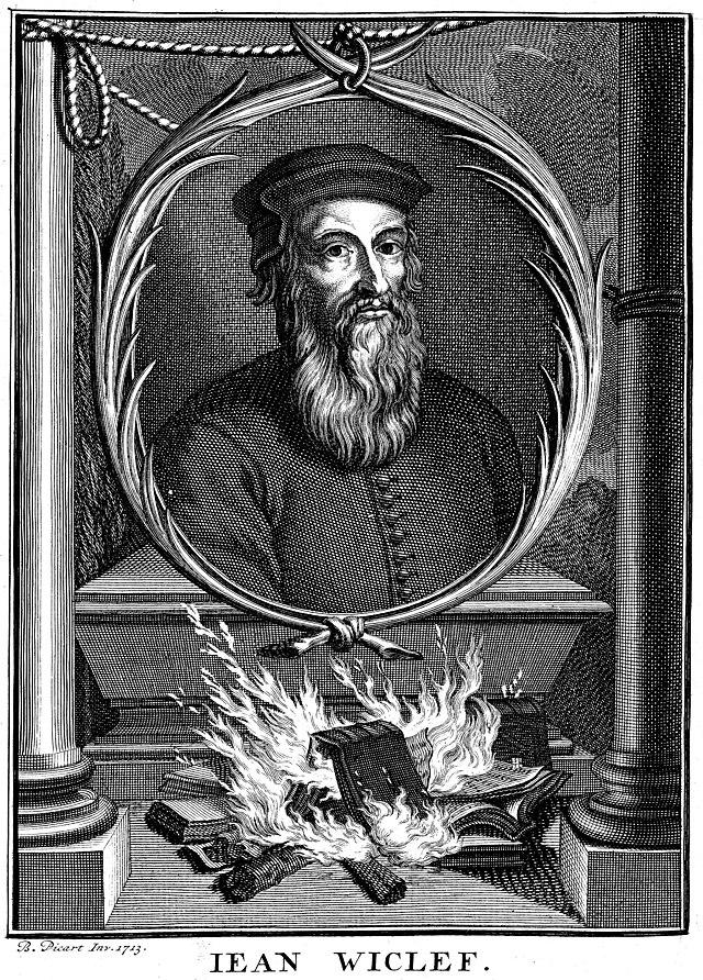 john wycliffe reformation