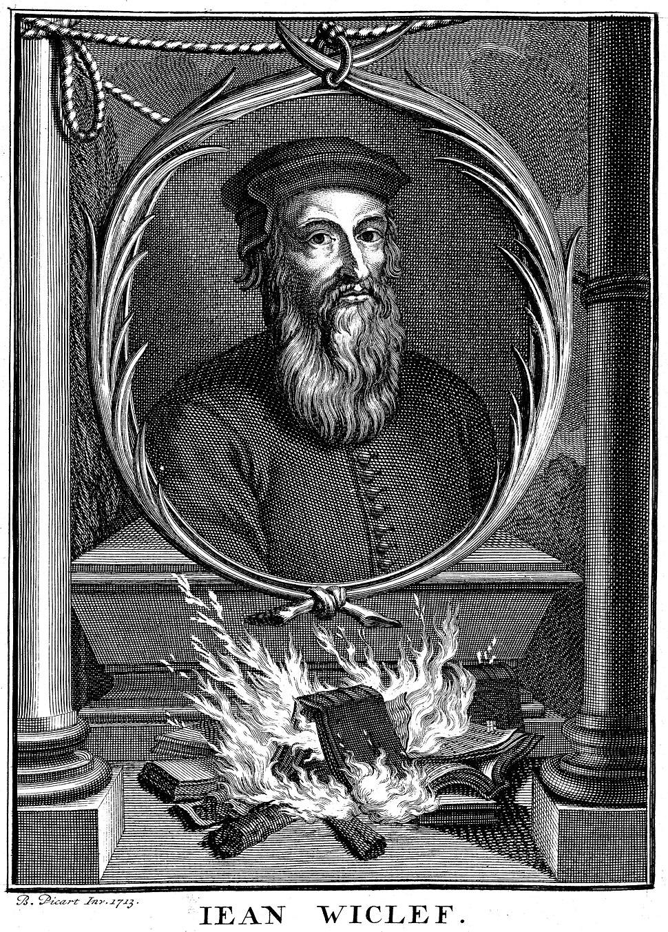 Portrait of John Wycliffe