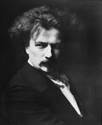 Ignacy Jan Paderewski - Portrait photograph of Ignace Paderewski