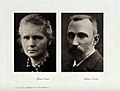 Portraits of Marie Curie and Pierre Curie Wellcome V0027528.jpg