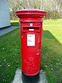 Postbox at Birch Services, westbound - geograph.org.uk - 1393333.jpg