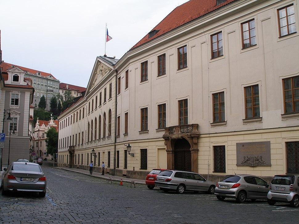 Praha, Poslanecká sněmovna Parlamentu České republiky