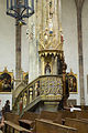Praha, Týnský chrám, kazatelna 01.jpg