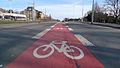 Praha, V Olšinách, cyklopruh 01.JPG