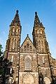 Praha 2, Pevnost Vyšehrad, Bazilika svatého Petra a Pavla 20170808 006.jpg