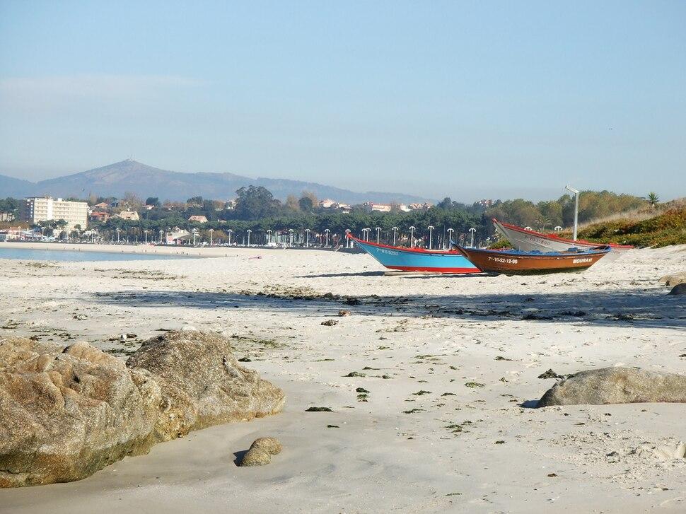 Praia de Samil, Navia, Vigo