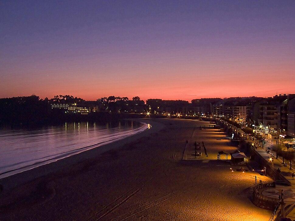 Praia de Silgar, Sanxenxo, Galiza