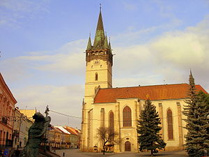 Christianity in the 16th century - Saint Nicholas Concathedral, Prešov, Slovakia after Late Gothic reconstruction (1502-1515).
