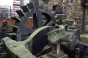 Kirkstall forge - A hammer at Kirkstall Forge