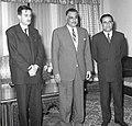 President Gamal Abdel Nasser and Lebanese Minister of Education Kamal Jumblatt in Syria - 1 March 1961.jpg