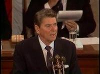 File:President Reagan's Address to Congress on the Geneva Summit at the US Capitol, November 21, 1985.webm