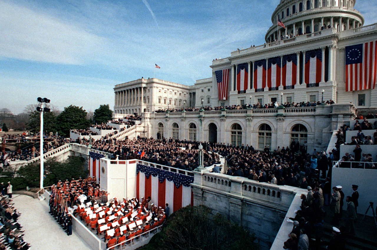 ronald reagan inauguration speech 1981
