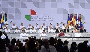 Ibero-American Summit - Ibero-American Summit, 2014 Veracruz, Mexico.