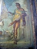 Τοιχογραφία με τον Πρίαπο, Casa Dei Vettii, Πομπηία