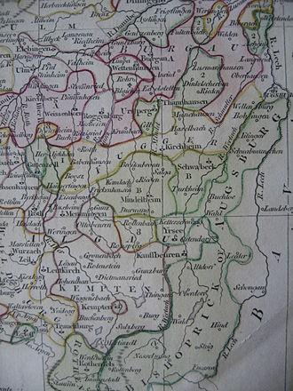 Prince-Bishopric of Augsburg - Territory of the Prince-Bishopric