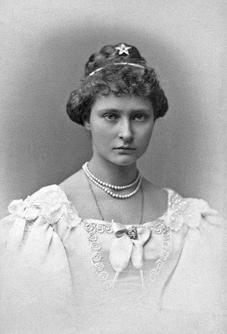 Alexandra Feodorovna (Alix of Hesse) - Princess Alix when she was 15