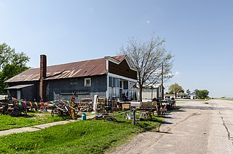 Princeton, Nebraska - Shady Rest Antiques