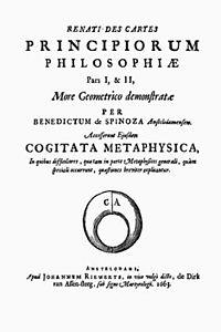 Principia philosophiae cartesianae cover